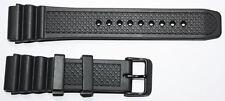 KHS Tactical Watch Diver Band Silikonband Schwarz Militäruhren 22mm KHS.EBDB.22