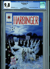 Harbinger Issue #4 CGC 9.8 NM/MT With Coupon 1992 K29