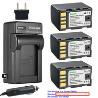 Kastar Battery AC Charger for JVC BN-VF823 & JVC GR-D750EX GR-D750U GR-D750US