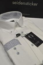 Seidensticker No Pattern Regular Button Cuff Men's Formal Shirts