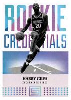 2017-18 Status Rookie Credentials Harry Giles III Kings #24 NBA RC Insert PWE
