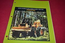 John Deere Forestry Equip Buyers Guide For 1990-91 Dealers Brochure DCPA6 ver3