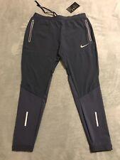 """Men's Nike Flex Swift 27"""" Running Pants Dri-Fit sz Large L Blue 857840 471 NWT"""