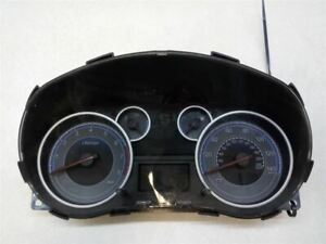 2011-12 SUZUKI SX4 SPEEDOMETER HEAD INSTRUMENT CLUSTER GAUGES 3411054L4