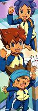 poster Inazuma Eleven Go anime Nishizono Shinsuke Matsukaze Tenma Hikaru