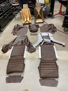 Porsche 914 complete brown factory look interior vinyl upholstery kit