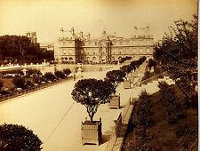 Original-photo, gr. ca 1870, Francia, París, Palais du Luxembourg, L.P. phot