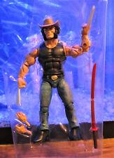"Marvel Legends 2019 COWBOY LOGAN FIGURE Loose 6"" X-men Wolverine Gamestop Ex."