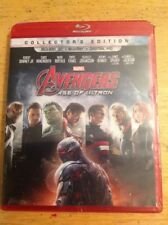 Avengers: Age of Ultron 3D(Blu-ray,2015+Digital)NEW Authentic Disney US RELEASE