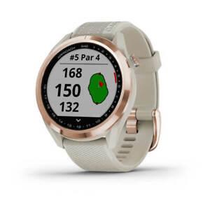 Garmin Approach S 42 Rosegold/Sand GPS Golfuhr NEU 2021  UVP 299,99€