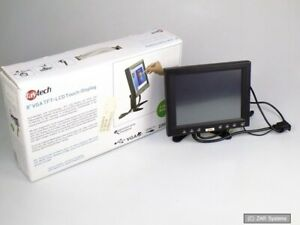 8 ZOLL Faytech FT0800 TFT LCD Touch Screen Monitor Display 800x600 HTPC / Auto