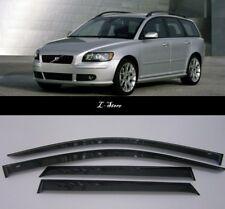 For Volvo V50 2005-2012 Wide Window Visors Side Guard Vent Deflectors
