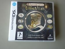 Nintendo DS: Professor Layton And the Curious Village   : Complete & Excellent