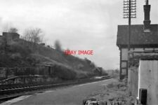 PHOTO  BELL BUSK RAILWAY STATION YORKSHIRE REMAINS 1961 MIDLAND RLY LEEDS - HELL