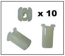 50X in Plastica Nylon Non Filettati Dadi 4mm foro e grande 24mm COLLARE PER MERCEDES BMW