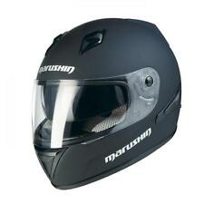 Marushin 779 ET Monocolor negro mate XL. Casco integral carretera doble pantalla