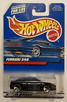 2000 Hotwheels Ferrari 348 Black! Variant! Very Rare! Mint! MOC!