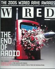 Brand New WIRED MAGAZINE March 2005 The End of Radio, Howard Stern, and More!