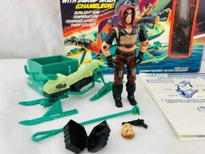 Vintage Hasbro GI Joe 1984 Cobra Zartan Complete with Box