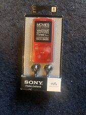 Sony Walkman 8GB MP3 Player - Red (NWZ-E374/RC)