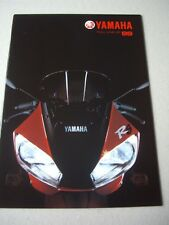 Yamaha 1999 Range brochure, YZF-R7 OWO2, YZF-Ri etc