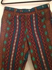 Vintage Mid Century Ed. Hawk Tiki Pants - Small