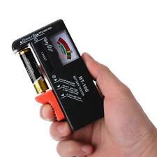 BT168 Digital Battery Capacity Tester For 9V 1.5V AA AAA Cell C D Batteries *#