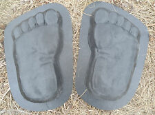 gostatue large set footprint plastic molds concrete molds plaster mold feet set