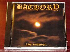 Bathory: The Return CD 2003 Black Mark AB Productions Sweden BMCD666-2 NEW