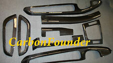 BMW E46 CONVERTIBLE M3 CARBON FIBER INTERIOR TRIM DASH KIT LHD 46-2CVCF