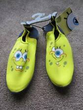 Sponge Bob Water Beach Yellow Shoes Sz. L 2/3