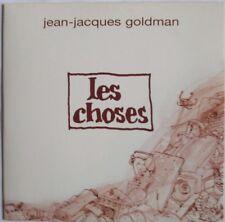 """JEAN-JACQUES GOLDMAN - CD SINGLE """"LES CHOSES"""""""