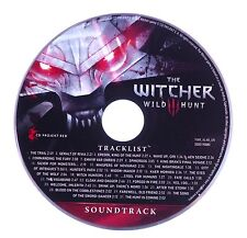 The Witcher III 3 Wild Hunt Soundtrack - MUSIC CD ONLY