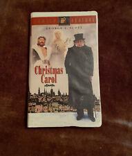A Christmas Carol (1984) 1995 Clamshell 20th Century Fox Family Feature VHS