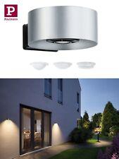 Paulmann House Wandleuchte Cone IP44 3000K 8W Lichtaustritt unten in Silber