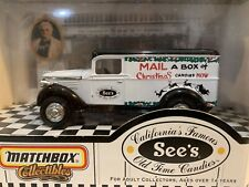 Matchbox Collectibles See's Christmas Candy Truck 1937 GMC New In Box 1999