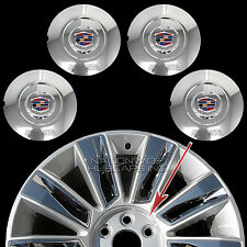 "fits 2015-2017 Cadillac Escalade 22"" Chrome Wheel Center Hub Caps Rim Lug Covers"