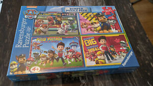 Paw Patrol Bumper Puzzle Pack New Sealed 4 x 42 Ravensburger