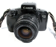 Canon EOS 750 35mm SLR Film Camera + Sigma 28-70 f3.5 Zoom Lens - Working