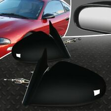 FOR 95-99 MITSUBISHI ECLIPSE EAGLE TALON PAIR OE STYLE MANUAL SIDE DOOR MIRROR