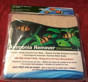 Penn Plax Ammonia Remover Filter Media Pad, 18 x 10-Inch cut to size $5.95