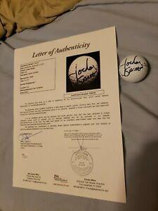 Jordan Spieth (HIS) full perfect signature signed golf ball JSA Full LOA Z25120