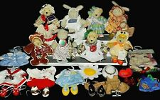 Huge Vanderbear Lot 5 Muffy Bears & 3 Hoppy's w/Lots Extra Clothes & Accessories