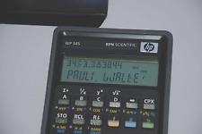 HP Calculator WP34S Hp 42S Emulation