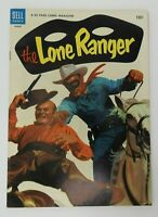 Vintage 1954 Dell LONE RANGER Comic Book #69 Wheaties & Milky Way Ad