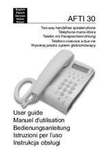 Telefon komplett mit  Headset und Verstärker / Axavis-Plantronics