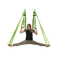 Yoga Swing Inversion Therapy Anti Gravity Aerial Hammock Large Bearing New