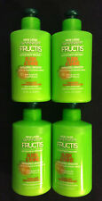 (4) Garnier Fructis Sleek & Shine Intensely Smooth Leave-In CONDITIONING Cream