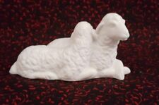 Avon White Nativity 1983 THE SHEEP Porcelain Figurine in Box