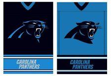 Carolina Panthers 2-Sided House Flag - Suede Jersey Flag - 29 x 43  Free Ship